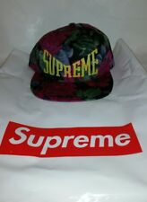 Supreme Floral 5 Panel Hat Week 19 in hand. Ready to ship out Priority