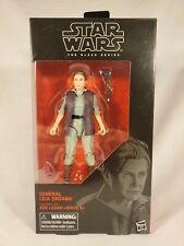 Hasbro Star Wars Black Series 6 Inch #52 General Leia Organa NIB Action Figure