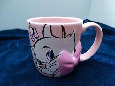 NEW DISNEY STORE ARISTOCATS MARIE KITTEN 3D BOW MUG PINK CUP CAT