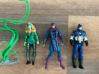 Marvel 3.75 Action Figures Lot Of 3