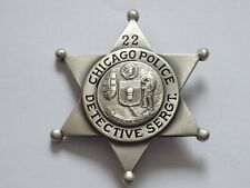 Polizeiabzeichen - Chicago Police Detective Sergeant police badge