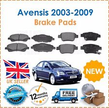 For Toyota Avensis 1.8 VVTi  2.0 D4D 2003-2009  Front & Rear Brake Disc Pads Set