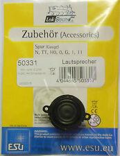 ESU 50331 - Lautsprecher rund / 4 Ohm / D=20mm - für Loksound V 4.0 - NEU - OVP