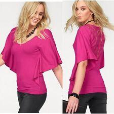 Fashion Short Sleeve Sexy Women Shirt Tank Loose T-Shirt Casual Tops Lace Blouse