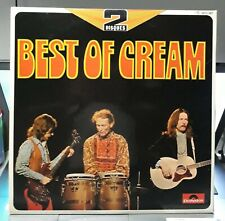 "COLLECTOR / DBL LP ""BEST OF CREAM""  POLYDOR FRANCE 1RST PRESS 73 (Clapton Eric)"