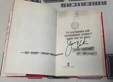 Jesse Ventura Signed 63 Documents The Government Doesn't Want . Book BAS COA WWE
