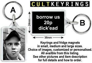 MC Devvo keyring / fridge magnet - David Firth, Salad Fingers