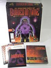 El proyecto jornalero enterrados en Caja Grande Tiempo PC CD-ROM juego IBM dos PC WIN 3.1