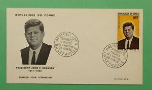 DR WHO 1965 CONGO FDC JFK JOHN F KENNEDY  C241263