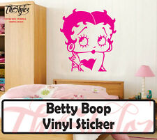 Betty Boop Wall Vinyl Sticker