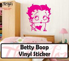 Betty Boop Wall Vinyl Sticker