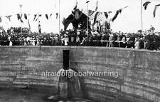 """Photo 1900s Australia """"Mount Charlotte Reservoir"""""""