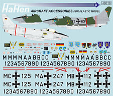 Decals 1:48 FIAT g-91 r-1/3