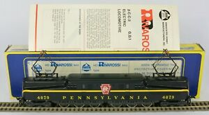 RIVAROSSI AHM GG1 ELECTRIC PENNSYLVANIA PRR EXC RUNNER LIGHTS REALLY EXCELLENT