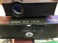 PROIETTORE LED 1200 LUMEN FULL HD 1080P VIDEOPROIETTORE HDMI USB VGA SD WIFI
