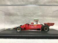 Ferrari 312T #12 Niki Lauda 1975 Formula 1 F1 Monaco GP LookSmart 1:43 LSHE001
