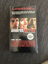 Amores Perros (Vhs, 2001, English Subtitled) Blockbuster Video Repacked