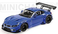 BMW Z4 GT3 Coupe E89 Streetversion 2012 blau blue 1:18 Minichamps