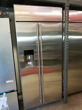 """Ge Monogram Ziss360Dkcss 36"""" Stainless Steel Built-In Side-By-Side Refrigerator"""