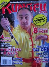 9/09 KUNG FU TAI CHI MAGAZINE DINO SALVATERA TIGER CLAW KARATE MARTIAL ARTS