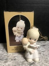 Precious Moments Tell Me The Story Of Jesus Ornament E-0533