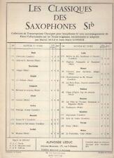 Divertissement en ré, Menuet pour Saxophone Si b et Piano