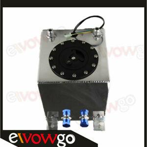 UK STOCK Lightweight Aluminum 2.5 Gallon 10L Fuel Cell Tank+Sender+Foam Layer