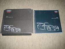 Audi R8R / R8C 24h Le Mans `99 Prospekt Brochure von 1999, 46 Seiten