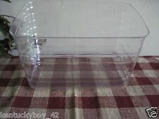 PLASTIC  PROTECTOR for Longaberger Large Recipe Basket NEW