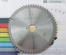 HM-Kreissägeblatt  216 x 30 Z 60 Negativ, Stehle,  für Kappsäge, Gehrungssäge