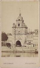 La Rochelle Photo Théophile Cognacq Vintage albumine ca 1865