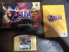 Legend Of Zelda : Majora's Mask - N64 ( Nintendo 64 ) Complete W/box & Manual !