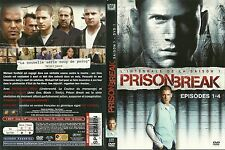 UNIQUEMENT LA JAQUETTE POUR DVD : PRISON BREAK SAISON 1 EPISODES 1 - 4