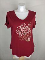 Womens Hard Rock Couture Short Sleeve Tee  Dallas Sz XXL