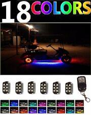 Custom LED Golf Cart Lighting Under Glow Pod Lights Kit for Caddy Club Car EZGO
