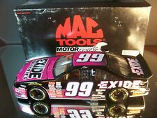 Jeff Burton #99 Exide Batteries Mac Tools 1997 Ford Thunderbird Action 4,000