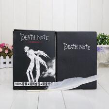 Death Note Japan Anime Cosplay Notizbuch Tagebuch Buch mit Federkiel Feder DE