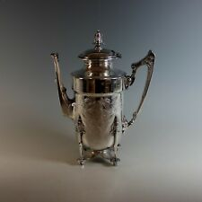 Aesthetic Movement Coffee Pot Urn Aesthetic Period 1850 - 1895