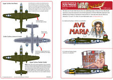 kits-world 1/48 b-25j Mitchell Pintura MORRO #48035