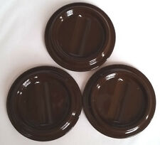 """Piano Caster Cups Brown Lucite Set of 3 Caster Cups 4-1/2"""" x 2-3/4"""""""