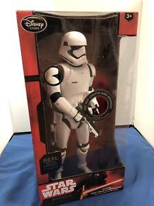 "Disney Star Wars 14"" Talking First Order Stormtrooper from Disney Store"