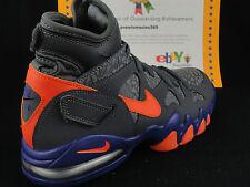 Nike Air Max 2 Strong, Dark Grey / Electric Orange, Sz 8.5