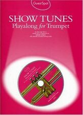 Guest Spot Show Tunes Playalong For Trumpet Tpt Book/Cd,Various,New Book mon0000