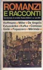 ROMANZI E RACCONTI-N° 5 SADEA-FOGAZZARO-HOFFMAN
