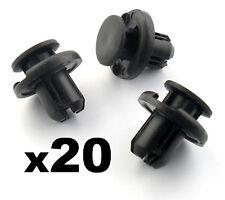 20X 10mm druckstöpsel Honda Stoßstange Kühlergrill & Motor Unterboden