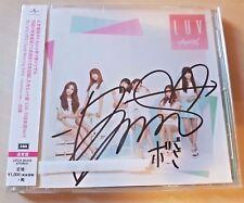 APink BoMi signed Luv Japan/JPN ver Regular edition no photo card