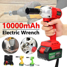 128V Brushless Electric Cordless Impact Wrench High Torque Drill With Battery