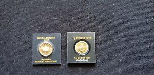 Canada 1 Gram .9999 Gold Maple Leaf Coin