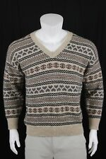 VTG Cotswold Wool Sweater V Neck LS Pullover Size 44