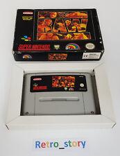Super Nintendo SNES - WWF Raw - PAL - EUR